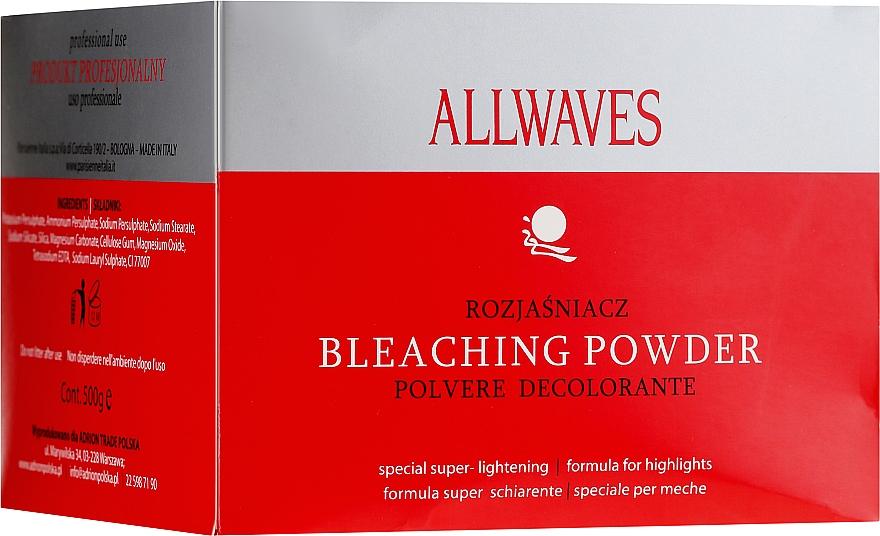 Polvo decolorante para cabello - Allwaves Bleaching Powder