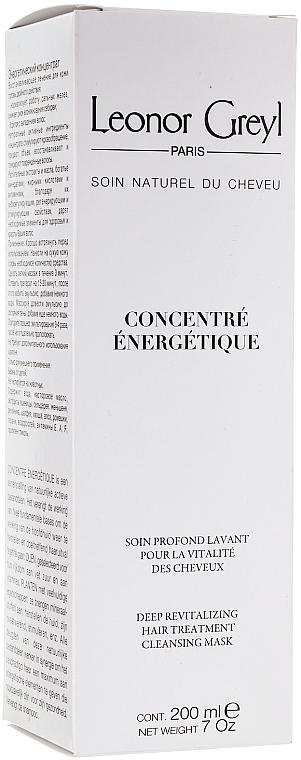 Tratamiento mascarilla capilar con aceite de germen de trigo - Leonor Greyl Concentre Energetique — imagen N1