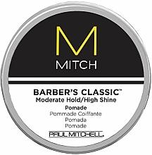 Perfumería y cosmética Pomada moldeadora de cabello de fijación fuerte - Paul Mitchell Mitch Barber's Classic