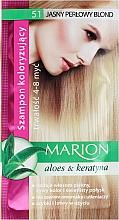 Perfumería y cosmética Champú colorante con aloe vera y queratina - Marion Color Shampoo With Aloe