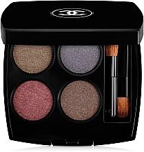 Perfumería y cosmética Paleta de sombras de ojos cremosas - Chanel Les 4 Ombres Multi-Effect Quadra Eyeshadow