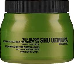 Perfumería y cosmética Mascarilla restauradora con aceite de argán para cabello dañado - Shu Uemura Art Of Hair Silk Bloom Restorative Treatment