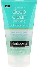 Perfumería y cosmética Gel-exfoliante facial con ácido salicílico - Neutrogena Skin Detox Cooling Gel Scrub