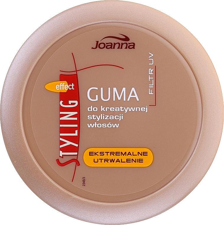 Goma para cabello estilizante de fijación extrema - Joanna Styling Effect Creative Hair Styling Gum Extreme Fixation