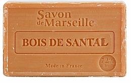 Perfumería y cosmética Jabón artesanal con aceite de almendras, aroma a sándalo - Le Chatelard 1802 Sandal Wood Soap