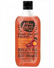 Perfumería y cosmética Gel de ducha con extracto de moringa, pomelo y centella asiática - MonoLove Bio Grapefruit-Curacao Shower Glow Gel