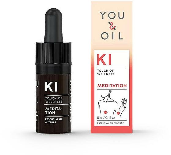 Mezcla de aceites esenciales para meditación - You & Oil KI-Meditation Bites Touch Of Wellness Essential Oil