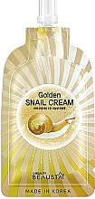 Perfumería y cosmética Crema facial regeneradora con baba de caracol - Beausta Golden Snail Cream