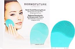 Perfumería y cosmética Cepillo sónico de limpieza facial, azul - Dermofuture Technology