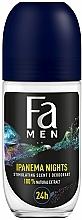Perfumería y cosmética Desodorante roll-on con extracto de guaraná - Fa Men Ipanema Nights Deo Roll On