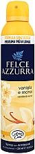 Perfumería y cosmética Ambientador en spray con aroma a azahar y vainilla - Felce Azzurra Vaniglia e Monoi Spray