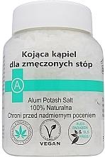 Perfumería y cosmética Sales naturales de baño para pies cansados - Biomika