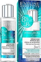 Perfumería y cosmética Esencia facial antipolución y restauradora 3en1 con ácido hialurónico - Eveline Cosmetics Hyaluron Clinic