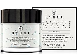 Perfumería y cosmética Crema facial antiimperfecciones con ácido salicílico - Avant Pro Salicylic Blue Minerals Clarifying Blemish & Imperfections Exfoliator