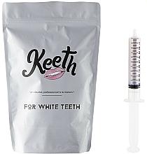 Perfumería y cosmética Kit jeringuilla de gel blanqueador dental con sabor a arándano (recarga) - Keeth Blueberry Refill Pack