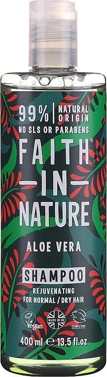 Champú natural vegano de aloe vera, sin parabenos ni sulfatos - Faith In Nature Aloe Vera Shampoo