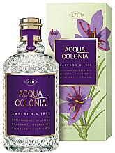 Perfumería y cosmética Maurer & Wirtz 4711 Acqua Colonia Saffron & Iris - Agua de colonia