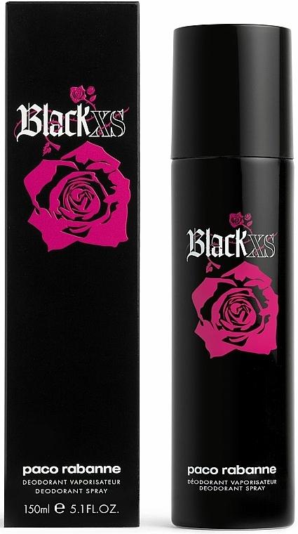 Paco Rabanne Black XS Pour Femme - Desodorante spray — imagen N1