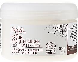 Perfumería y cosmética Arcilla facial blanca de origen natural - Najel Clay In Powder White