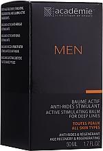 Perfumería y cosmética Bálsamo antiarrugas para hombre con extracto de abedul y roble - Academie Men Active Stimulating Balm for Deep Lines