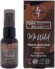 Perfumería y cosmética Aceite para cabello y barba hipoalergénico sin aroma - 4Organic Mr Wild