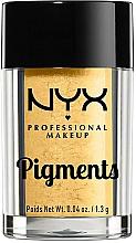 Perfumería y cosmética Pigmentos sueltos metálicos para sombra de ojos - NYX Professional Makeup Pigments