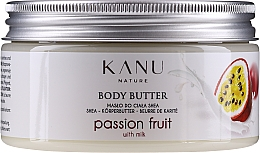 Perfumería y cosmética Manteca corporal con karité orgánico, aroma a maracuyá - Kanu Nature Passion Fruit Body Butter