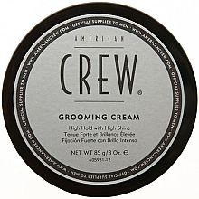 Perfumería y cosmética Crema para cabello de fijación fuerte y brillo intenso - American Crew Classic Grooming Cream