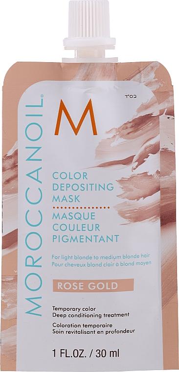 Mascarilla capilar colorante y nutritiva - MoroccanOil Color Depositing Mask
