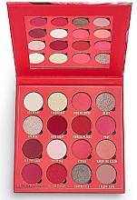 Perfumería y cosmética Paleta sombras de ojos, 16 colores - Makeup Obsession Kisses Eyeshadow Palette