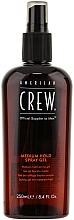 Perfumería y cosmética Gel en spray para cabello con extracto de ginseng, alantoína y salvia, fijación media - American Crew Classic Spray Gel