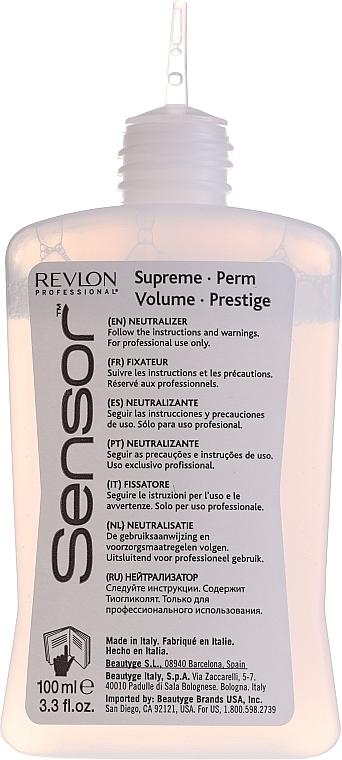 Tratamiento rizada permanente con proteínas de uso profesional - Revlon Professional Sensor Perm-Supreme — imagen N10