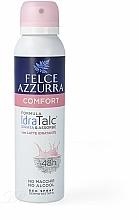 Perfumería y cosmética Desodorante spray antitranspirante, sin alcohol - Felce Azzurra Deo Deo Spray Comfort