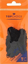 Perfumería y cosmética Gorro de malla flexible con banda elástica, negro 3073 - Top Choice