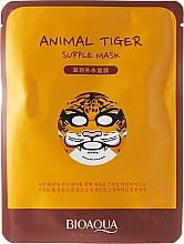 Perfumería y cosmética Mascarilla facial de tejido con extracto de rodiola - Bioaqua Animal Tiger Supple Mask