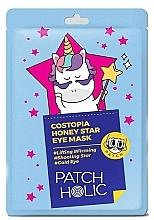 Perfumería y cosmética Mascarilla contorno de ojos reafirmante con extracto de miel - Patch Holic Costopia Honey Star Eye Mask