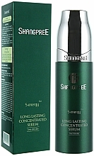 Perfumería y cosmética Serúm facial reparador con extracto de menta - Shangpree S Energy Long Lasting Concentrated Serum