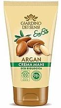 Perfumería y cosmética Crema de manos con aceite de argán - Giardino Dei Sensi Eco Bio Argan Hand Cream