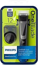 Perfumería y cosmética Recortador, perfilador y afeitador de barba - Philips OneBlade Pro QP6510/20