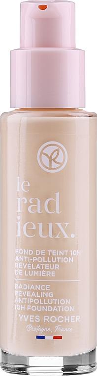 Base de maquillaje iluminadora antipolución, vegana - Yves Rocher