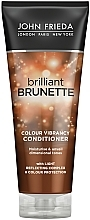 Perfumería y cosmética Acondicionador nutritivo protección del color - John Frieda Brilliant Brunette Colour Protecting Moisturising Conditioner