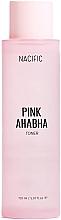 Perfumería y cosmética Tónico facial exfoliante con extracto de sandía, AHA y BHA ácidos - Nacific Pink AHA BHA Toner