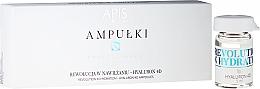 Perfumería y cosmética Concentrado facial hidratante en ampollas con ácido hialurónico - APIS Professional 4D Hyaluron Concentrate Ampule
