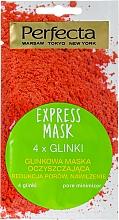 Perfumería y cosmética Mascarilla facial con 4 arcillas y D-pantenol - Perfecta Express Mask