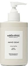 Perfumería y cosmética Jabón de manos líquido con jugo de aloe vera orgánico, Menta y limón - Estelle & Thild Citrus Menthe Citrus Menthe Hand Soap