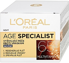 Crema facial con vitamina E & B5 - L'Oreal Paris Age Specialist Restoring Day Anti Wrinkle Cream — imagen N1