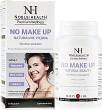 Perfumería y cosmética Complemento alimenticio en cápsulas para una piel sana, 60 cáp. - Noble Health No Make Up
