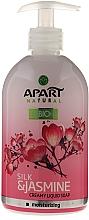 Jabón de manos líquido cremoso con extracto de jazmín y seda - Apart Natural Silk & Jasmine Soap — imagen N1
