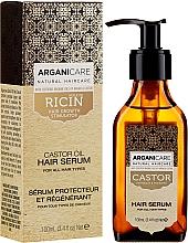 Perfumería y cosmética Sérum con aceite de argán & ricino - Arganicare Castor Oil Hair Serum