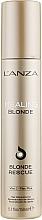 Perfumería y cosmética Tratamiento reconstructor para cabello rubio sin aclarado - L'anza Healing Blonde Rescue